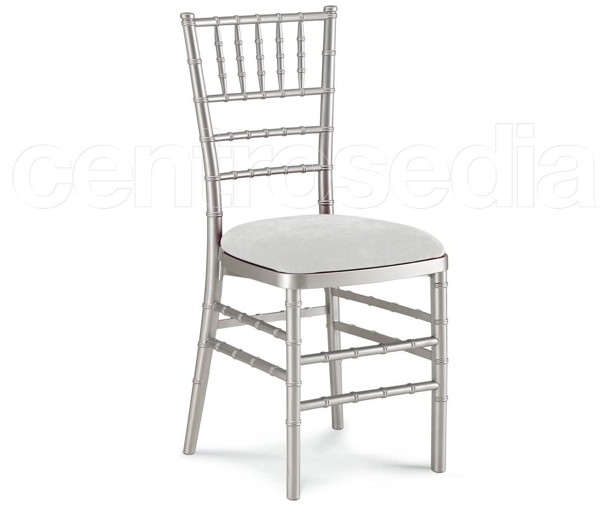 Sedia Da Regista Alluminio Robuste.Chiavarina Sedia Catering Argento Sedie Catering Centrosedia