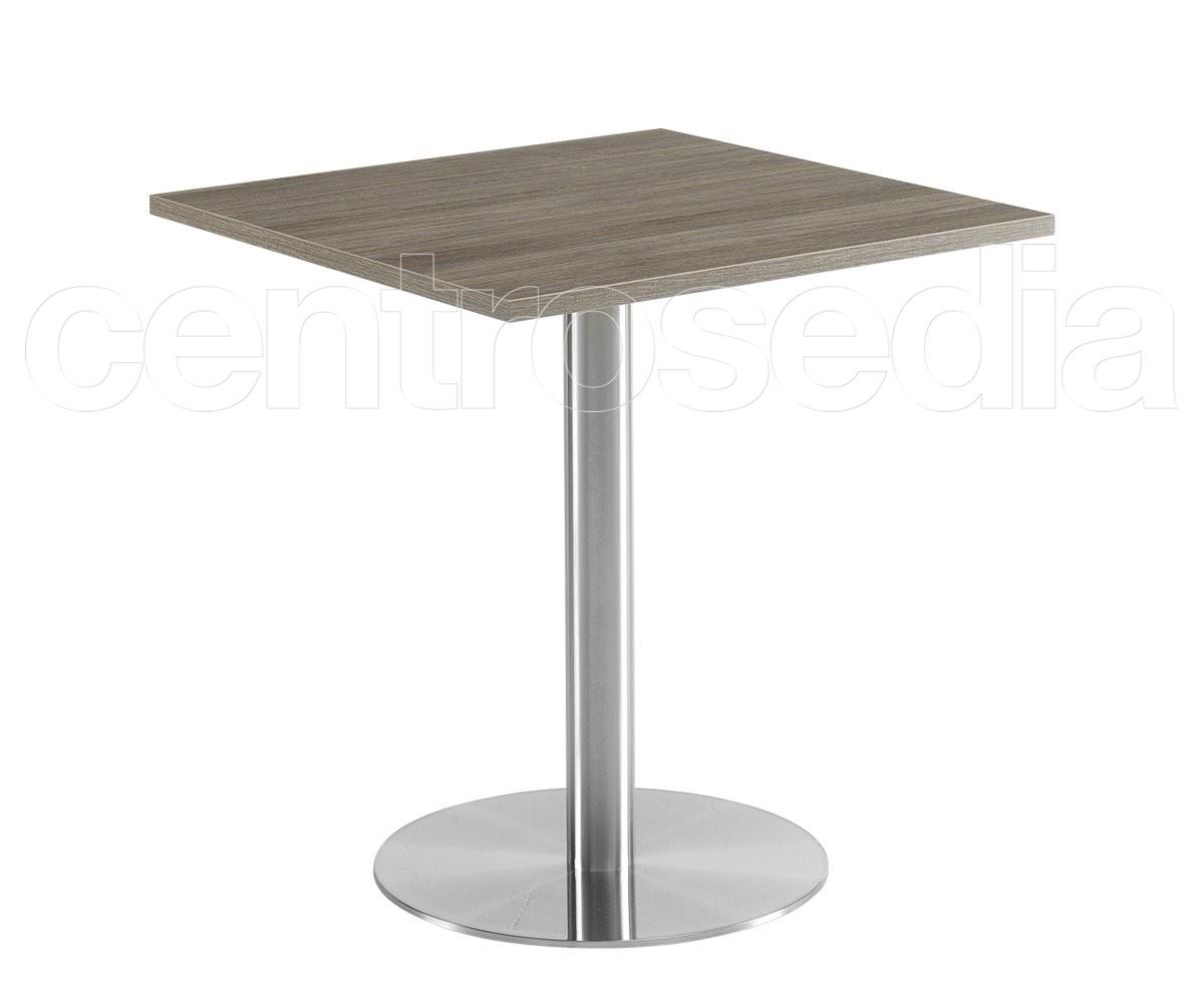 Lione 71 tavolo acciaio inox tavoli alluminio metallo centrosedia